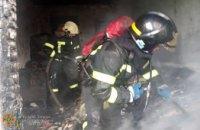 Сегодня утром в центре Кривого Рога горело общежитие (ВИДЕО)