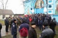 В Ровенской области 8 прихожан и 2 священника УПЦ третьи сутки голодают в заблокированном храме, - УПЦ