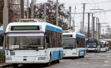 В Днепре до 80% подвижного состава автобусов возобновили работу