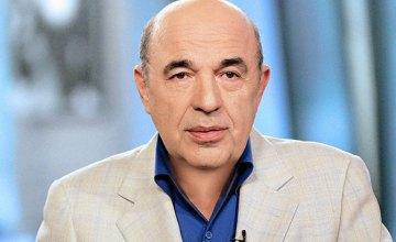 Вадим Рабинович: «ОПЗЖ» настаивает на ЧП, но власть должна информировать общество о каждом шаге!