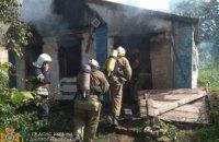 В Синельниковском районе при пожаре в собственном доме погиб мужчина