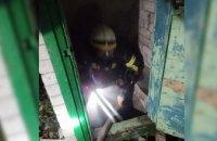 В Днепре загорелся подвал в жилом доме