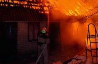 В Новомосковском районе загорелась хозпостройка: пострадала домашняя птица