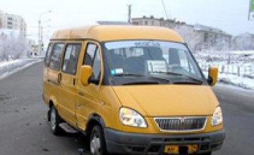 В Днепропетровске водитель маршрутки сбил насмерть 38-летнюю женщину