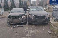 В Днепре столкнулись Ford и BMW: пострадала беременная женщина