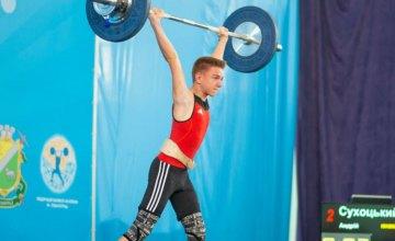 Спортсмены Днепропетровщины завоевали 6 медалей на чемпионате Украины по тяжелой атлетике