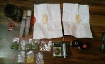 На Днепропетровщине правоохранители изъяли у местных жителей наркотики на 50 тыс грн