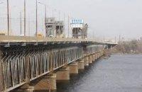 В Днепре затруднено движение через Старый мост