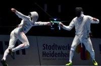 Днепровский шпажист Богдан Никишин завоевал серебро Этапа кубка мира по фехтованию на этапе Кубка мира в Германии