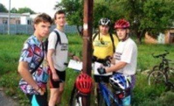 В Днепропетровске прошел вело-фото-квест «Flash-Cross»