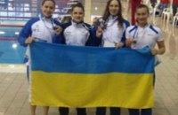 Украинские пловцы завоевали 13 наград на Международных соревнованиях «Multinations» в Греции