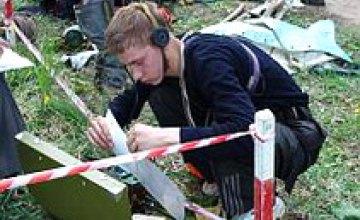 Международные соревнования юных спасателей в Днепропетровской области