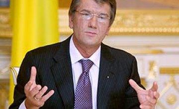 Ющенко: В I квартале 2009 года спад ВВП в Украине составил приблизительно 20%