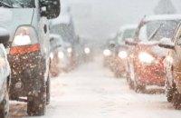 На Криворожской трассе две фуре попали в ДТП: движение затруднено
