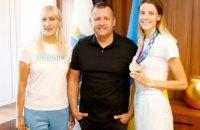 Борис Філатов привітав бронзову призерку Олімпіади в Токіо Ярославу Магучіх
