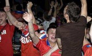 После матча Россия — Испания в Москве милиция задержала 220 человек
