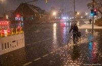 В Германии объявлен режим чрезвычайного положения из-за урагана