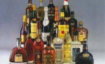 На новогодние праздники милиция не зафиксировала ни одного случая незаконной торговли алкоголем в Днепропетровской области