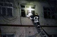 На Днепропетровщине сгорело производственное предприятие