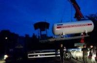 В Днепре за ночь демонтировали более полусотни газовых АЗС