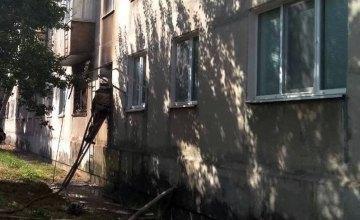 Пожар на Днепропетровщине: горела квартира в многоэтажке