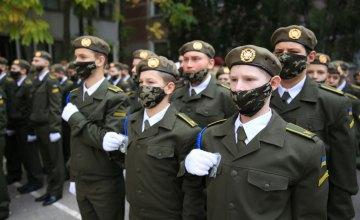 У Дніпрі півтори сотні хлопців урочисто дали клятву військового ліцеїста