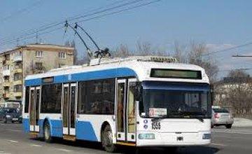 Обновление 100% троллейбусов, ежедневно выходят на маршруты