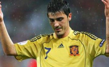 Рейтинг бомбардиров Евро-2008: Вилья травмирован, но непобедим