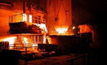 В Днепропетровской области вырос уровень производства продукции на предприятиях ГМК