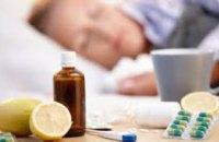 За минувшую неделю гриппом и ОРВИ заболело более 183 тыс. украинцев