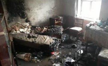 В Кривом Роге на пожаре в жилом доме погиб человек