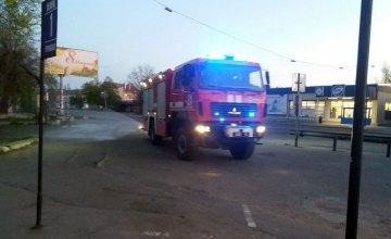 На Днепропетровщине спасатели продолжают проводить санитарную обработку улиц