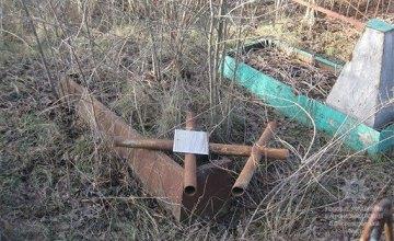 На Днепропетровщине задержали кладбищенского вандала