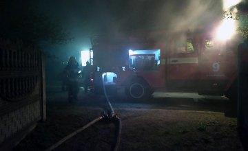 В Петриковском районе горел жилой дом: есть пострадавшие