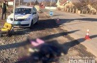 На Прикарпатье маршрутка сбила насмерть женщину (ФОТО)