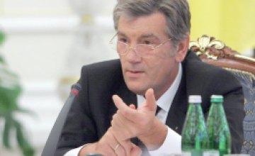 Виктор Ющенко обязал Кабмин в течении суток отчитаться о ликвидации последствий наводнения
