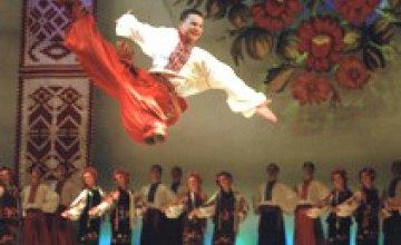 Концерт ансамбля танца им. Вирского состоится 15 сентября в театре Оперы и балета