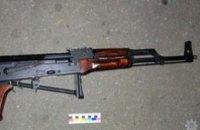 В Павлограде полиция задержала джип с оружием и боеприпасами