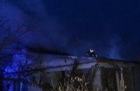 В Покрове горел одноэтажный жилой дом