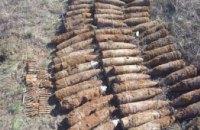 На Днепропетровщине подорвали 139 единиц боеприпасов