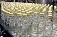 Производство водки в Украине упало на 14%