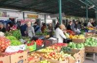 Госпродпотребслужба продолжает фиксировать нарушения противоэпидемических требований на рынках Днепропетровщины