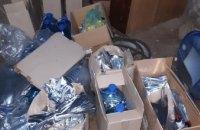 В Кривом Роге мужчина организовал в гаражах цех по изготовлению суррогата (ФОТО)